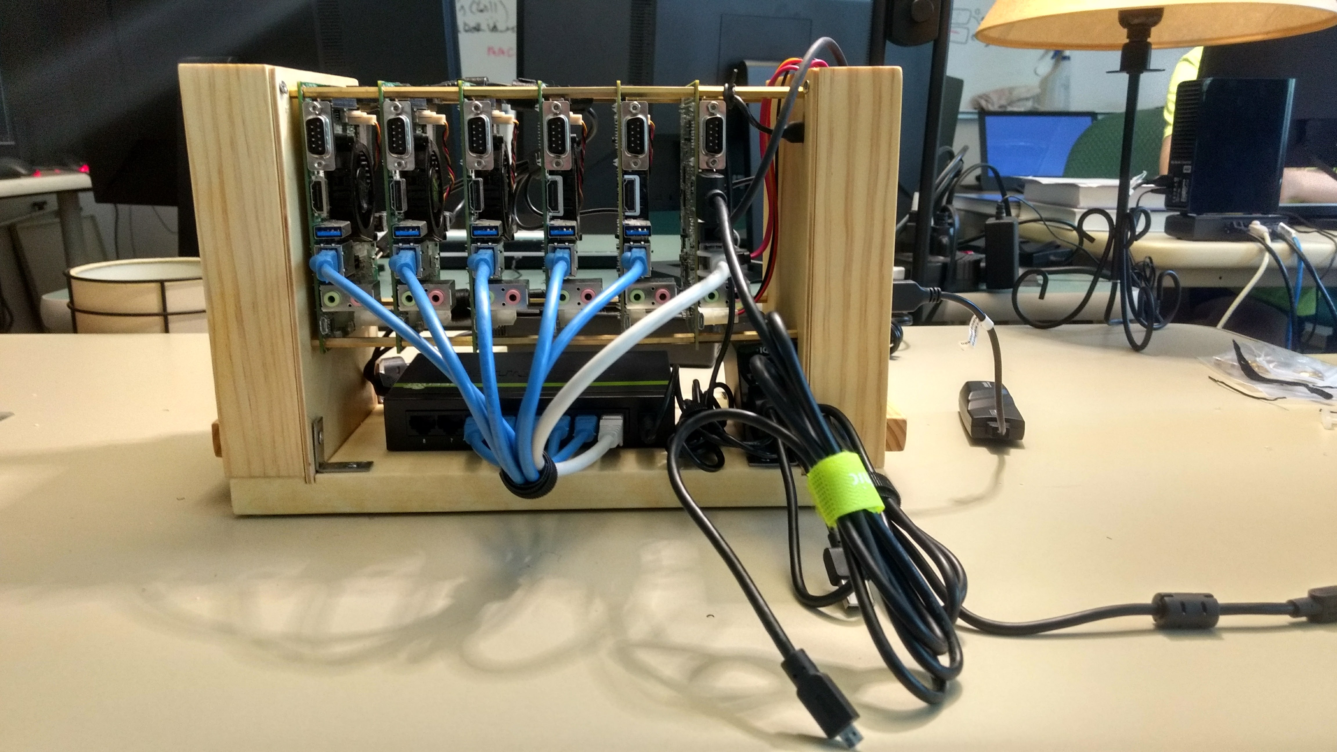 Building a Nvidia Jetson TK1 Cluster — Building a Raspberry Pi Cluster
